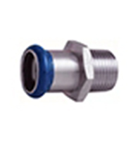 europress-stainless-steel-adaptor-with-male-thread-air-compressed