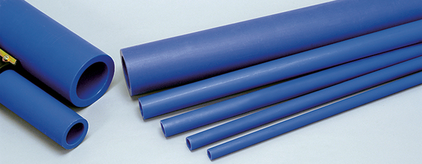 Maxair blue poly pipe