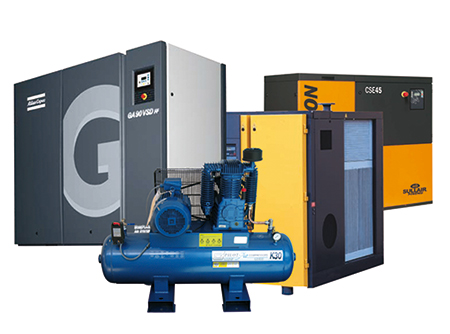 leading brands - Air compressors