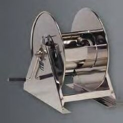stainless steel industrial air hose reel
