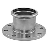 supersize stainless steel fitting